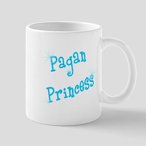 Pagan Princess Teal Mug