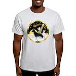 NightFlight-German Shep3 Light T-Shirt