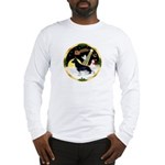 NightFlight-German Shep3 Long Sleeve T-Shirt