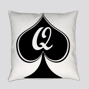 Elegant Spade Everyday Pillow