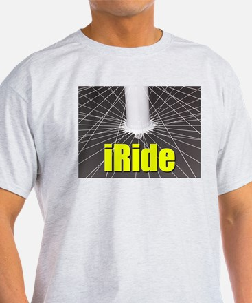 iRide Ash Grey T-Shirt