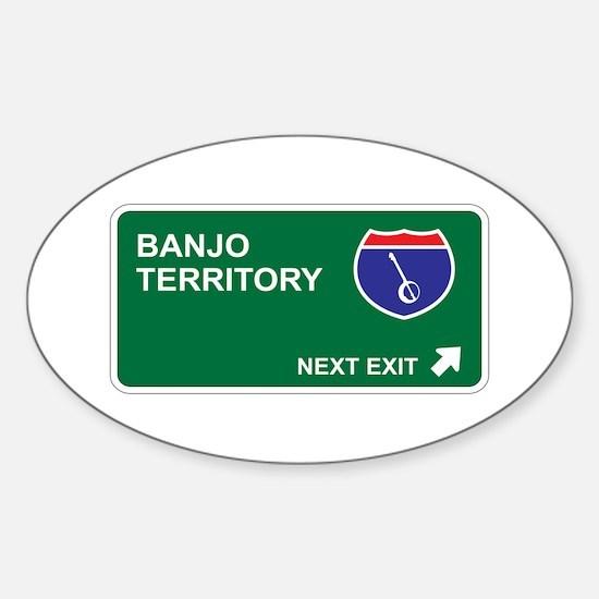 Banjo Territory Oval Decal