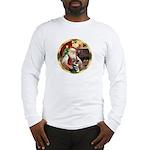 Santa's German Shepherd #15 Long Sleeve T-Shirt