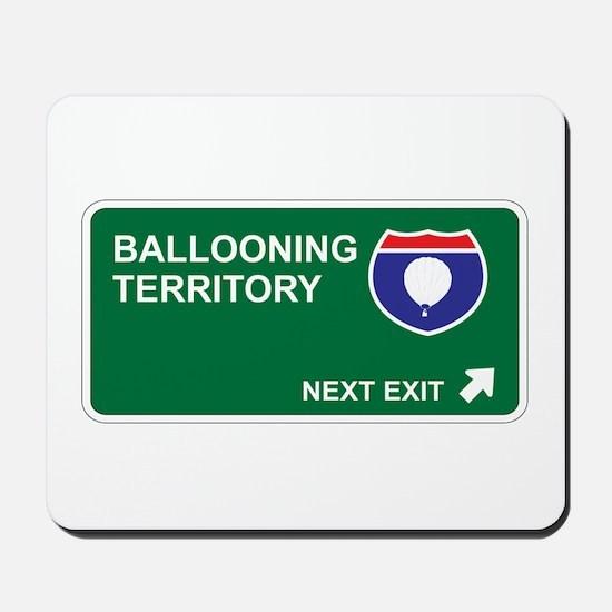 Ballooning Territory Mousepad