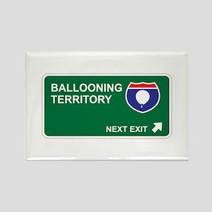Ballooning Territory Rectangle Magnet