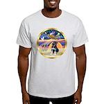 XmasStar/German Shep Pup Light T-Shirt