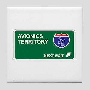 Avionics Territory Tile Coaster