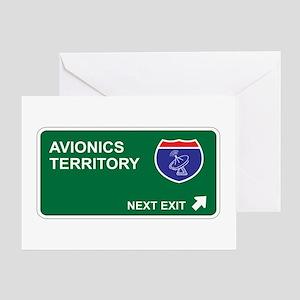 Avionics Territory Greeting Card