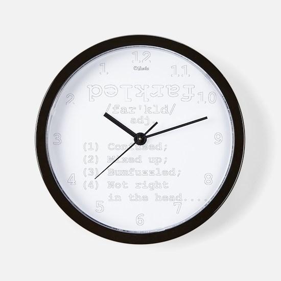 Definition: Farkled Wall Clock
