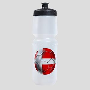 Danish Football Sports Bottle