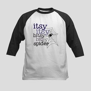 Itsy Bitsy Spider Kids Baseball Jersey