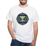 Celtic Sun-Moon Hourglass White T-Shirt