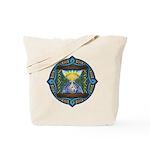 Celtic Sun-Moon Hourglass Tote Bag