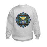 Celtic Sun-Moon Hourglass Kids Sweatshirt