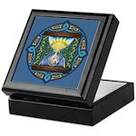 Celtic Sun-Moon Hourglass Keepsake Box