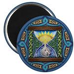 Celtic Sun-Moon Hourglass Magnet