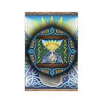 Celtic Sun-Moon Hourglass Rectangle Magnet (10 pac