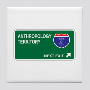 Anthropology Territory Tile Coaster