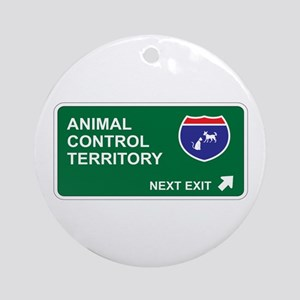 Animal, Control Territory Ornament (Round)