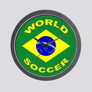 Brazil World Cup 2006 Soccer Wall Clock