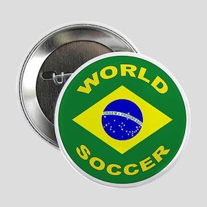 Brazil World Cup 2006 Soccer Button