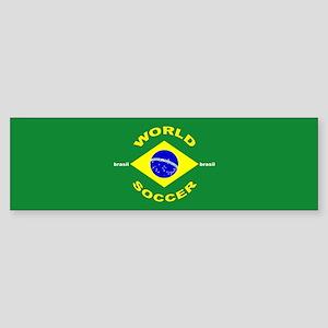 Brazil World Cup 2006 Soccer Bumper Sticker
