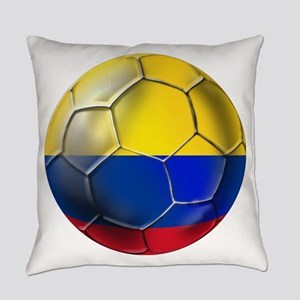 Colombia Soccer Ball Everyday Pillow
