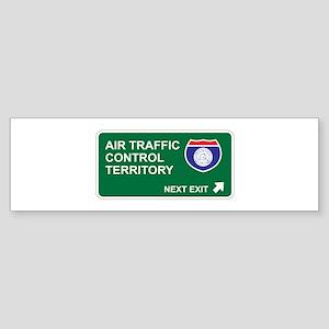 Air Traffic, Control Territory Bumper Sticker