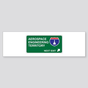 Aerospace, Engineering Territory Bumper Sticker