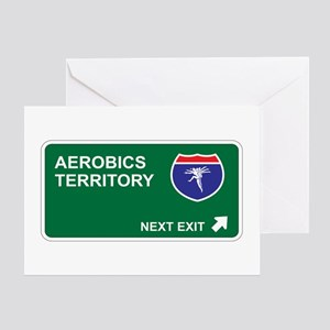 Aerobics Territory Greeting Card