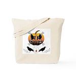 Pumpkin & Bones Trick or Treat Tote Bag