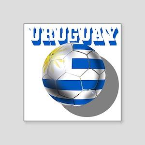 Uruguay Soccer Ball Sticker