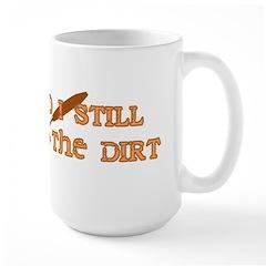 50th Birthday Gardening Large Mug