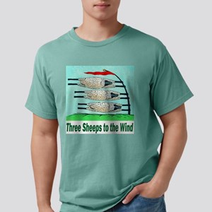 Three Sheeps to the Wind Ash Grey T-Shirt