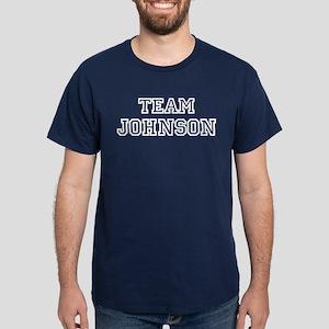 TEAM JOHNSON Dark T-Shirt