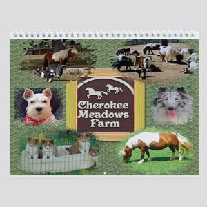 TLC OASIS SHELTIES Wall Calendar