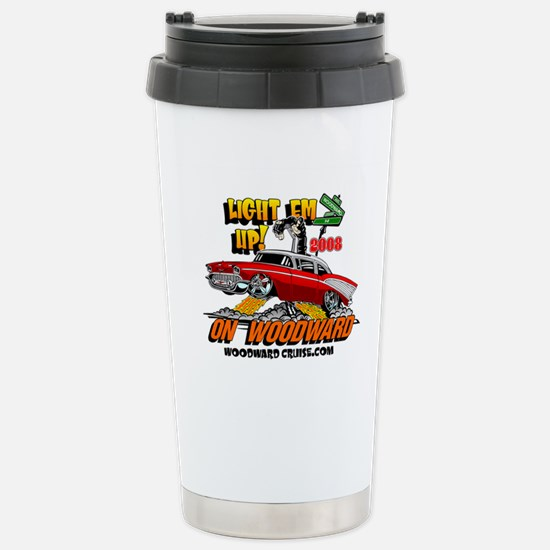 Lite Em Up - Stainless Steel Travel Mug