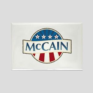 McCain Stars & Stripes Rectangle Magnet