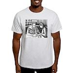 Anatomy Lesson Ash Grey T-Shirt