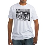 Anatomy Lesson Fitted T-Shirt