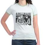 Anatomy Lesson Jr. Ringer T-Shirt