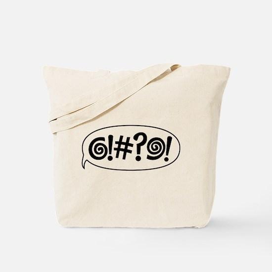 Cute Cursing Tote Bag