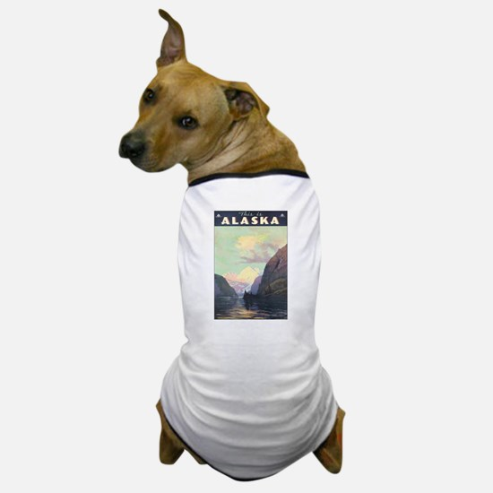 Alaska AK Dog T-Shirt