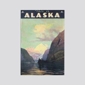 Alaska AK Rectangle Magnet