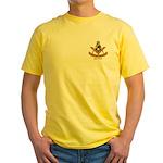 Master of ye' olden days Yellow T-Shirt