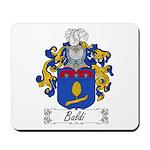 Baldi Family Crest Mousepad