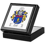 Baldi Family Crest Keepsake Box