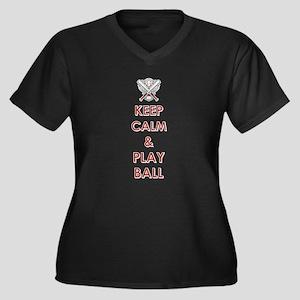 KEEP CALM... Plus Size T-Shirt