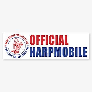 Harp Schleppers Local 412 Bumper Sticker (10 pk)