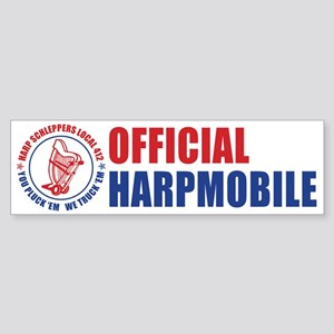 Harp Schleppers Local 412 Bumper Sticker